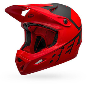 Bell Transfer Casco, matte red/black